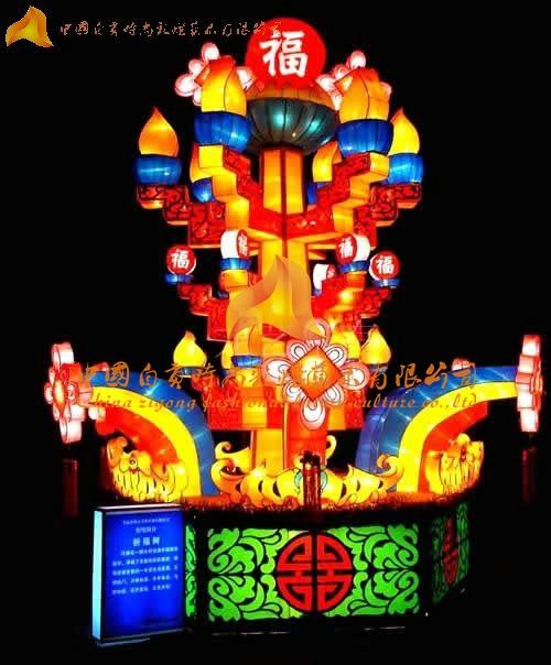 广西彩灯制作 自贡时尚彩灯