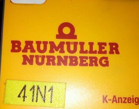 包米勒Baumuller伺服电机DSD100杭州南京维修销售