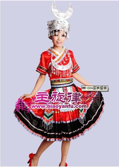 云南苗族服装设计
