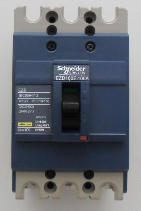 长期供应 ns塑壳断路器 施耐德款塑壳断路器