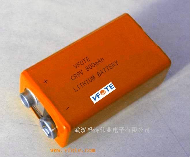 烟雾报警器用vfote瑞孚特电池er9v/cr9v一次锂电池图片