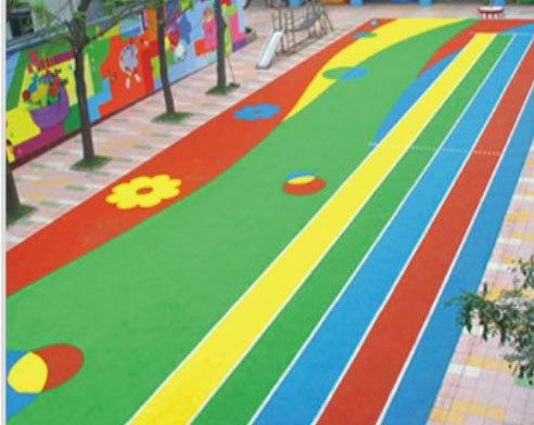 幼儿园地面简单图案