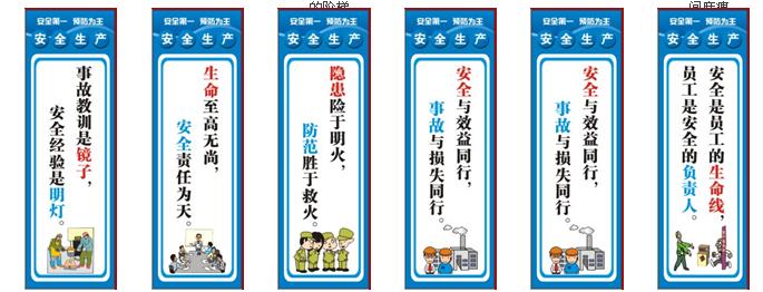 车间安全生产标语_安全生产标生产标识牌_广州车间安全生产挂图