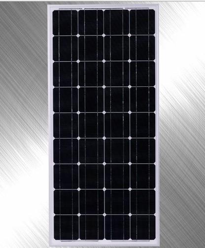 板 太阳能电池板组件批发  150 w 太阳能电板 中文名: 单晶硅太阳能板