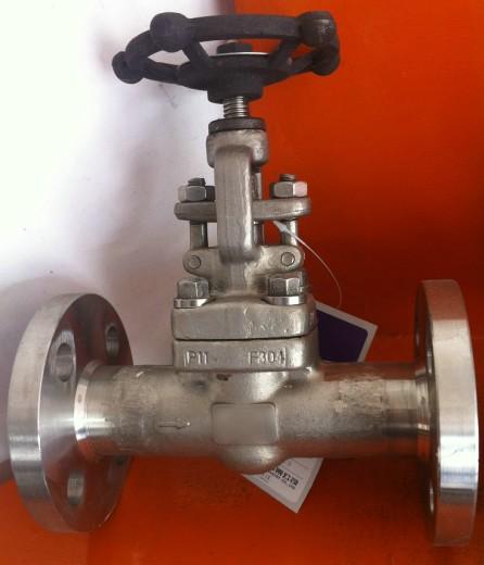 不锈钢闸阀z41y-16p dn20图片