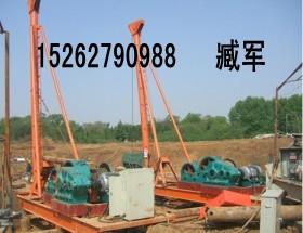 江西萍乡手拉锤冲击钻机打桩机卷扬机厂家直销