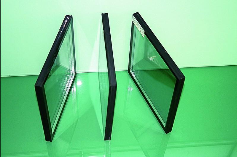 離線low-e雙鋼化中空幕墻玻璃
