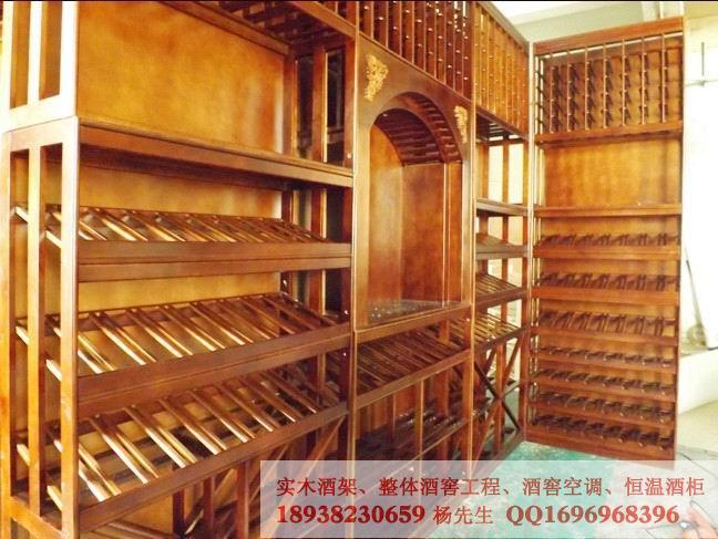 湖南橡木酒架设计,私人艺术酒窖定制
