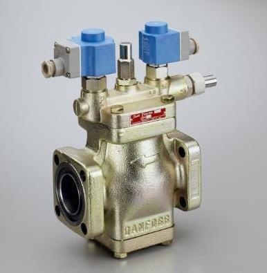 其典型应用在大型工业制冷系统中,需热气融霜的蒸汽回气管电磁阀图片