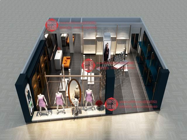 商业空间设计 柜位设计 服装店