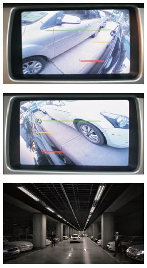 车视野360度无缝全景影像俯视监控系统