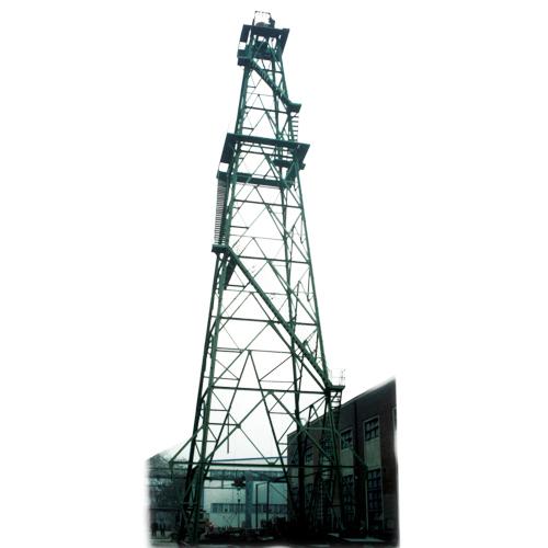 石油钻塔矢量图