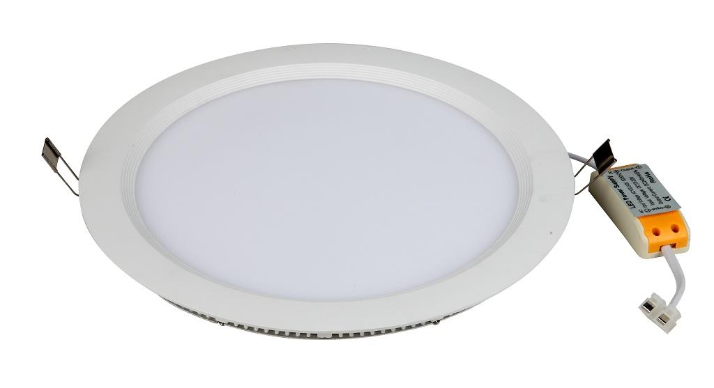 5寸超薄led筒灯外壳配件,面板灯外壳套件