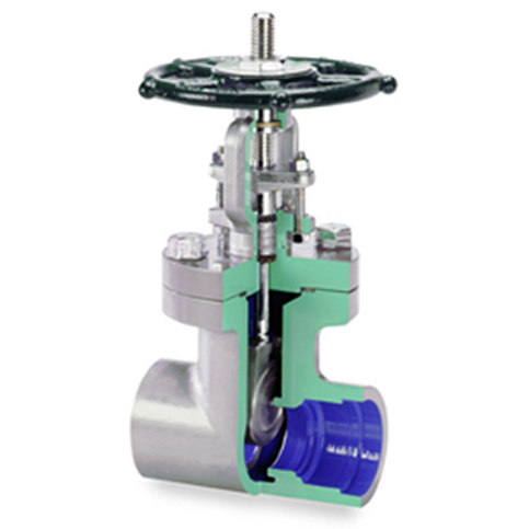 美国福斯equiwedge闸阀应用:     冷凝物冷却水, 低压安全注射
