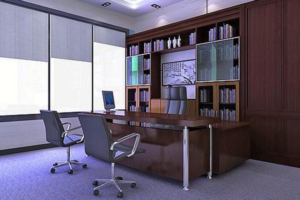 办公室 家居 设计 书房 装修 600_400