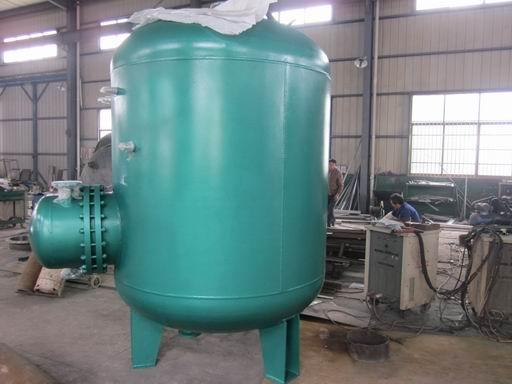 一, 产品特点: rv03/04系列导流型容积式换热器,水加热器,是一款按图片