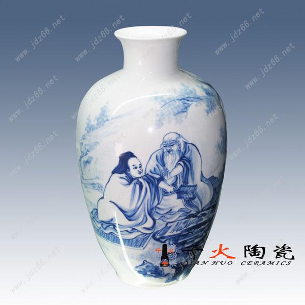 供应现代名家陶瓷手绘瓷瓶大师瓷瓶
