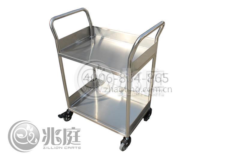 不锈钢推车用途 不锈钢手推车主要应用在电子行业及小型零件仓,机场