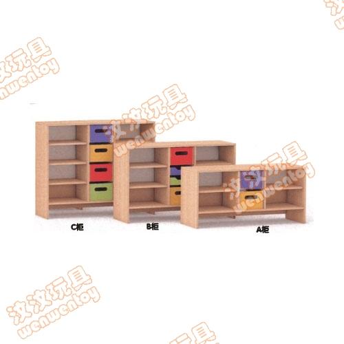山东幼儿园柜子 幼儿园玩具柜子 幼儿园储物柜 幼儿园
