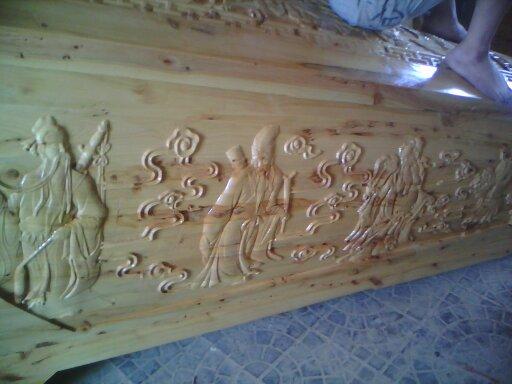 河南棺材雕刻机价格