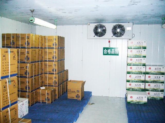 修武县小型化工厂冷库安装图片