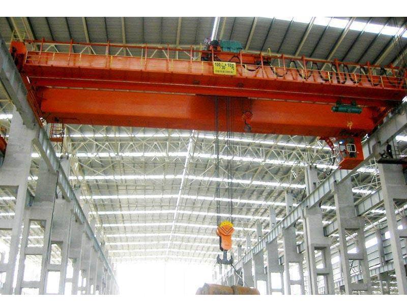 供应巨人3-5吨单梁抓斗起重机 厂家直销