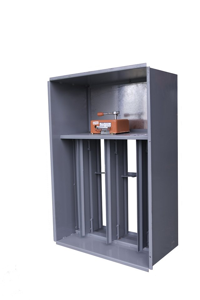 方法二是把每层的排烟主管上电动的常闭的防火阀改成图片