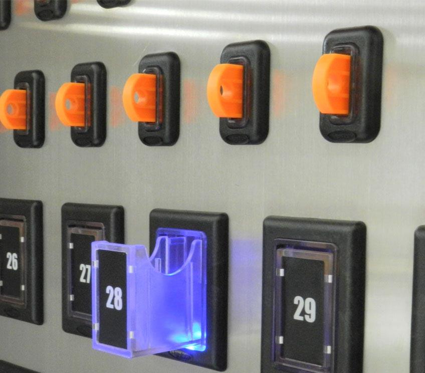 兰德华i-keybox智能钥匙柜rfid密码指纹监控钥匙管理