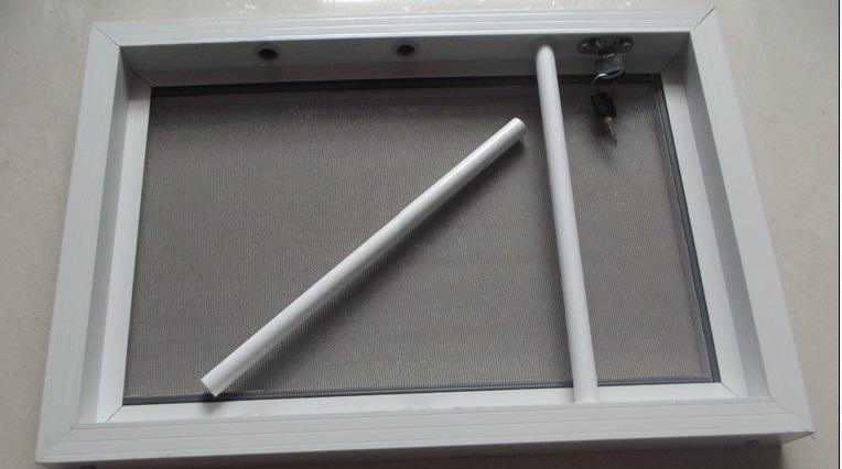 孝义隐形防护一体纱窗特点:  1,防蚊虫;  2,隐形防护纱窗为可开启式