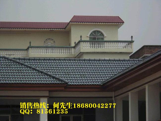 北京合成树脂瓦 平改坡工程树脂瓦 穿衣戴帽工程树脂瓦