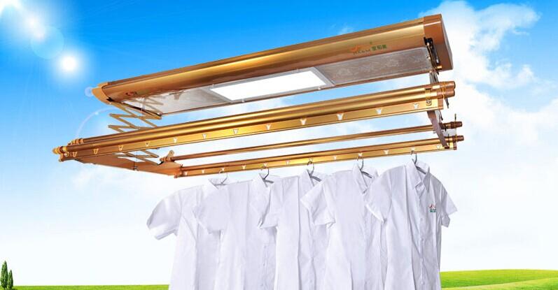 智能电动晾衣架品牌厂家图片