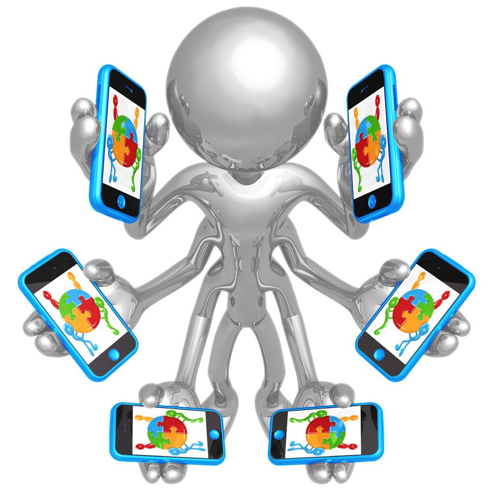 手机 素材 3d小人