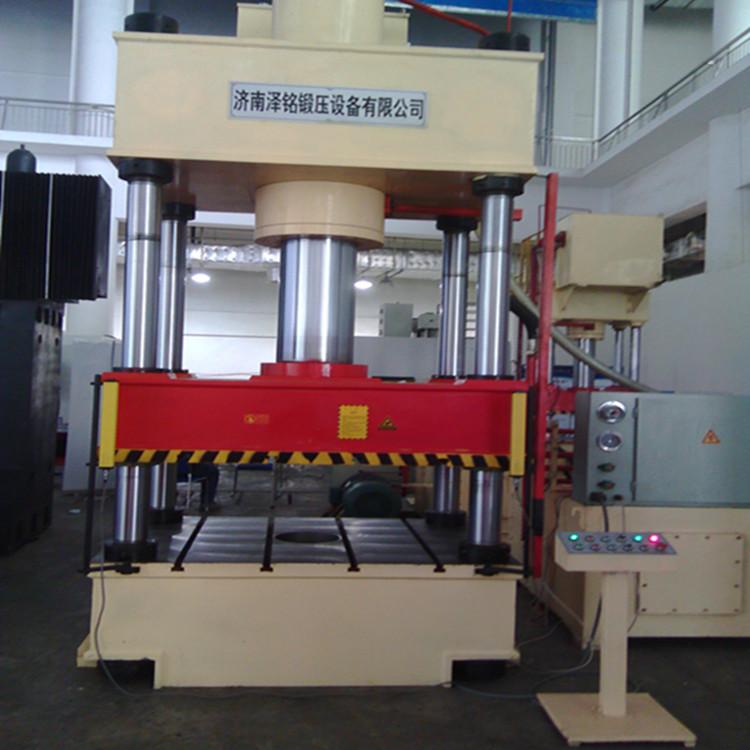 生产销售济南泽铭800吨四柱液压机图片