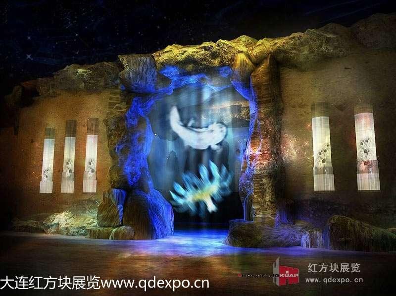恐龙化石馆经典案例|稀有动物博物馆施工建造