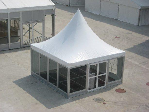 5mx5m欧式尖顶篷房图片