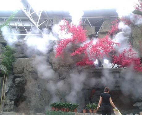 广东福建江苏浙江四川喷雾人造雾园林景观造雾机