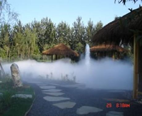 湖面水池人造雾水景造雾超声波造雾设备
