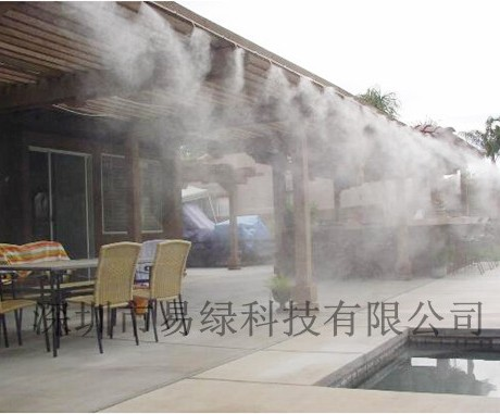超声波造雾景观园林造雾机雾森喷雾加湿