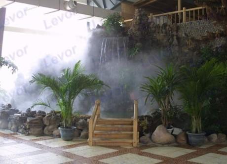 超声波造雾景观园林造雾机雾森喷雾系统