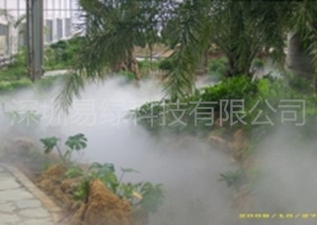 商业地产住宅区喷雾喷泉人工造雾设备