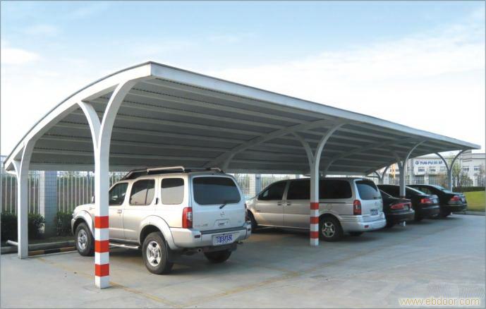 彩钢瓦钢结构车棚