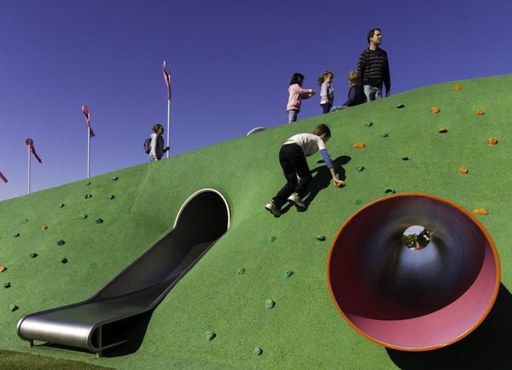 公园/小区儿童游乐设施不锈钢滑梯