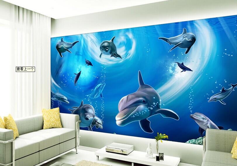 满足了现代人对个性化家装的需要,实现了家装工装墙纸壁画壁纸图案和