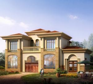 两层豪华140平方小别墅带晒台全套设计图纸