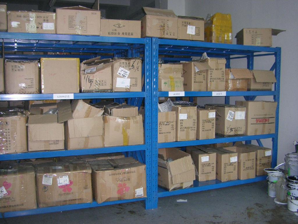 物流系统,自动化立体仓库系统和各种冷弯型钢的规划,设计,制造,安装及图片