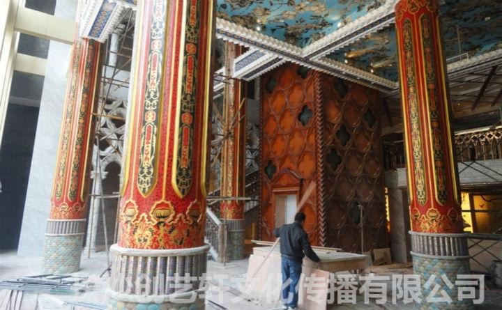 长沙古建筑彩绘