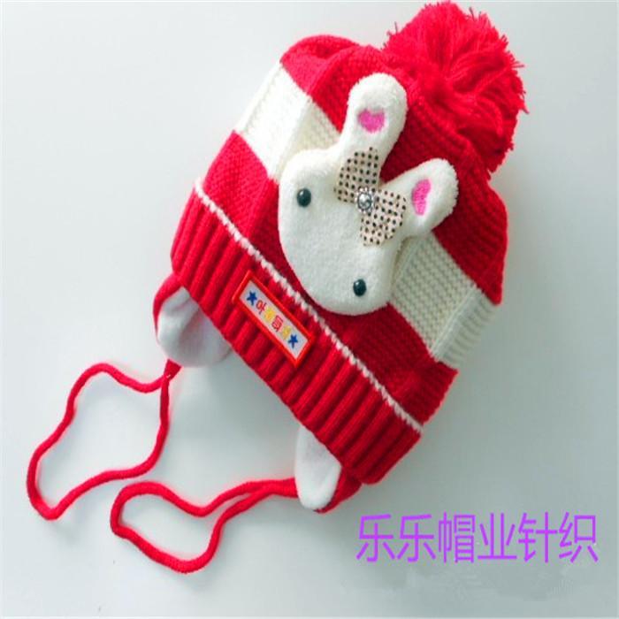 秋冬儿童帽子时尚韩版护耳朵帽子分体护耳帽子宝宝帽子