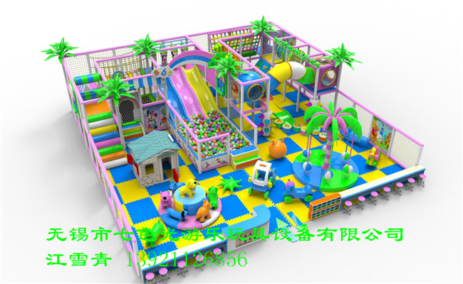 江苏江阴游乐玩具淘气堡儿童乐园儿童翻斗城厂家