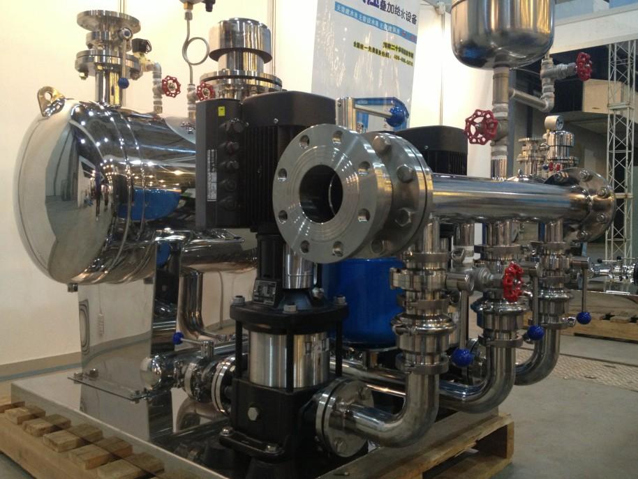 关于供水设备应该怎样正确安装呢?测试后才知道~