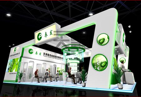 广州交易会展台搭建,天望展位设计搭建,热线【020-8776图片